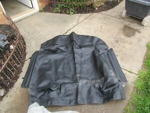 1996-2002 DODGE VIPER BLACK LEATHER COCKPIT COVER & STORAGE BAGS