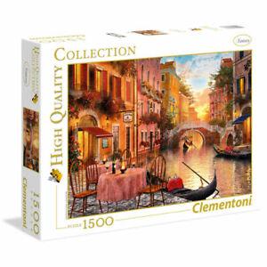 Clementoni Puzzle 1500 Teile Venezia                                     (31668)