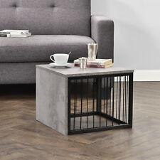 [en.casa] Table d'appoint 45x45x35cm basse aspect béton de chevet console