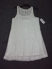 SUPR'E: Size: M. (10-12). Stylish Ivory Lace Dress, with Separate Ivory Lining
