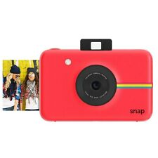 Polaroid Snap Instant Digital Camera (Red) with ZINK Zero Ink Printing Techno...