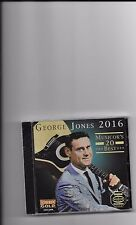 "GEORGE JONES, CD ""20 MUSICOR'S BEST"" NEW SEALED"