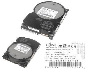 Fujitsu M1624TAU CA01422-B441 2.1GB Ata 5400RPM 8.9cm