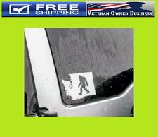 Bigfoot Sasquatch Washington State Map Vinyl Decal Sticker Window Bumper Yeti