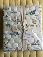 Hanna Andersson Winnie the Pooh Organic Cotton Crib Quilt Blanket New NWT