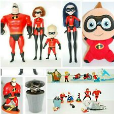 """Lot of 21 Disney Pixar The Incredibles 2 Poseable 12"""" Figure 4 Doll & 17 Figures"""