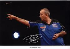 """PHIL """"THE POWER"""" TAYLOR AUTOGRAPHED SIGNED A4 PP POSTER PHOTO"""