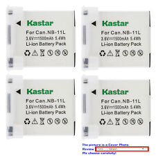 Kastar Replacement Battery for Canon NB-11L CB-2LD Canon ELPH 190 IS Camera