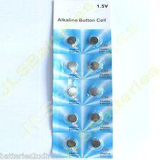 50 x pilas alcalinas 1.5V Pila de botón AG12 386 LR43