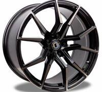 Schmidt Drago Noir Brillant Jante 9x21 - 21 Pouces 5x112 Diamètre de Perçage