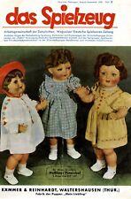 Puppe K&R Liebling Farbreklame 1943 !!! Kämmer & Reinhardt Waltershausen Werbung