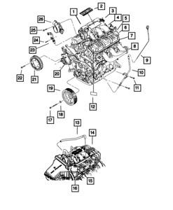 Genuine MOPAR Throttle Body 4861661AB