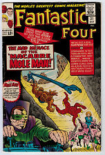 Fantastic Four #31 4.5 Kirby Art Early Avengers X-Over Ow Pages Silver Age