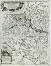 Il Regno di Navarra. The Kingdom of Navarre. Spain. DE ROSSI / CANTELLI 1690 map
