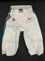 #19 JAKEEM GRANT MIAMI DOLPHINS NIKE GAME USED THROWBACK PANTS SIZE-28 YEAR-2020