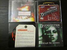 D GENERATION  4 CD LOT *PROMOS*