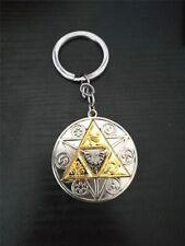 6Pcs//set The Legend of Zelda Cosplay Necklace Pendant KeyChain Keyring Holder