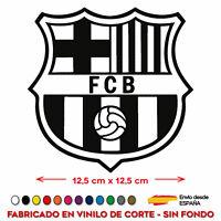 ESCUDO FCB BARCELONA FÚTBOL VINILO STICKER PEGATINA ADHESIVO VINILO COCHE BARÇA