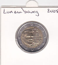 Pièces 2 euro -2008  luxembourg