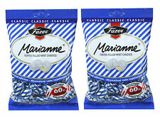Fazer Marianne Azul Menta Caramelos Relleno con Toffee 2 x 220 g 2 Bolsas