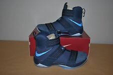 "Nike LeBron James LBJ X 10 SFG ""Soldier"" Midnight Navy 844378-444 Sz 12 BNIB"