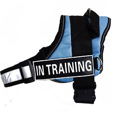 Reflective Service Dog Vest Dog Harness Padded with Removable 2 label Patches