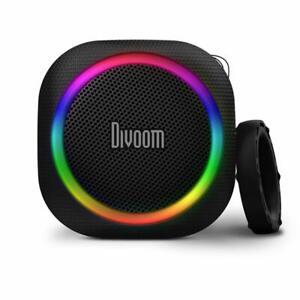 Divoom Airbeat 30 Bluetooth Wireless Black Portable Speaker with Mic