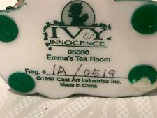 Vintage Ivy & Innocence Emma's Tea Room Figurine 1997 Cast Art Industries #05030