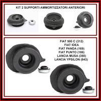 Supporti Ammortizzatori Cuscinetti Anteriori Fiat 500 Punto Panda Idea Ypsilon