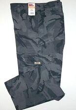 Mens Wrangler Camo Flex Cargo Pants Relaxed Fit Tech Pocket 34 36 38 40 42 44 46