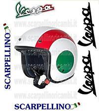CASCO DEMI-JET VESPA NAZIONE ITALIA ORIGINALE - TAGLIA L - CASQUE - HELMETS -