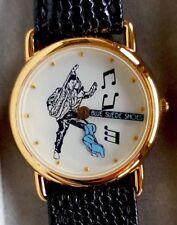 Rare ELVIS PRESLEY Blue Suede Shoes Collector's Quartz Watch EPE Ltd Ed NIB Mint