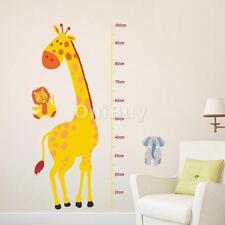 Stickers Muraux 3D Autocollant Adhésif Décoration Murale Girafe Lion 70*50cm