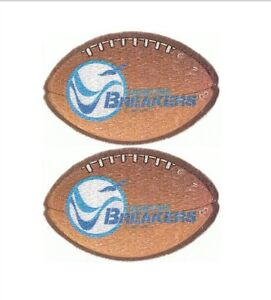 """Set of 2 Vintage 1982 USFL Boston Breakers Football 4"""" Patch New old stock"""