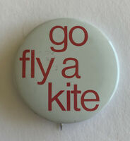 Vintage Go Fly A Kite Pinback Buttons