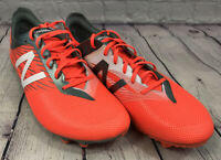 NEW New Balance Men's FG Soccer cleats MSFURFOT Orange Grey Size 10.5 M