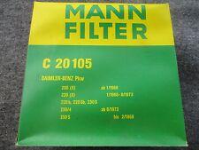 Volvo 1800E 1800ES p/n 683471 NOS Mann Air Filter Also Some Mercedes C 20 105