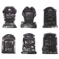 Tombstones Halloween Props Haunted House Outdoor Indoor Spooky Decoration LU