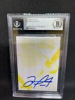Oscar Taveras Yellow Printing Plate...Autographed 1/1 Beckett Slabbed Cardinals