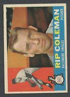 1960 Topps #179 Rip Coleman EX/EX+ C00008006