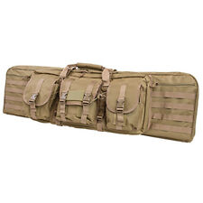 "NcSTAR VISM 42"" Tan Tactical Padded Double Carbine Rifle Gun Case Bag"