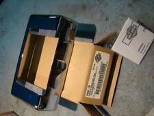 Harley FL Touring chrome FLHR oil cooler cover 63032-05 FLTR FLHT NOS EP11605