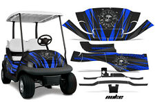 Club Car Precedent Golf Cart Graphic Kit Wrap Parts AMR Racing Decals NUKE BLUE