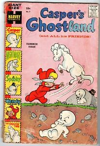Casper's Ghostland #3, Good - Very Good Condition!