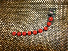 Color Gallery by Bead Treasures Red/Black Glass Beads 19 pieces NEW USA Seller