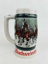 """Budweiser """"Clydesdales 50th Anniversary"""" """"1933-1983"""" Stein / Mug - Ceramarte"""