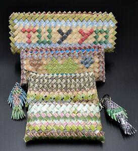 Venezuela Bolivares Sample Collection of Handbags Made by Venezuelans on Border