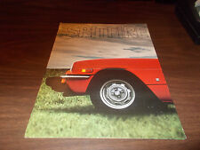 1976 Triumph Spitfire Sales Brochure