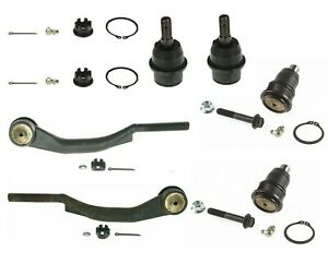 For Steering & Suspension Kit For Rainier Trailblazer Envoy Bravada 9-7x MOOG