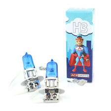 Peugeot 205 MK2 55w ICE Blue Xenon HID High Main Beam Headlight Bulbs Pair